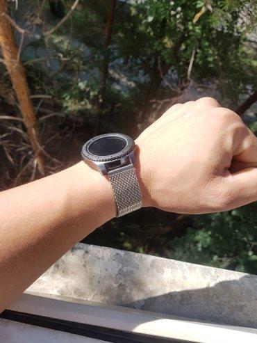 samsung gear s3 в Кыргызстан: Ремень браслет на Samsung gear s3 плетёнка