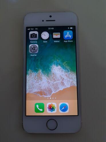 10177 elan | MOBIL TELEFON VƏ AKSESUARLAR: IPhone 5s | 16 GB | Qızılı İşlənmiş | Barmaq izi