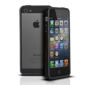 Apple Iphone - Бишкек: Б/У iPhone 5s 16 ГБ Черный (Jet Black)