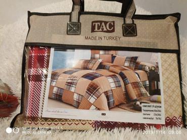 2хспальный комплект постельного белья качество цена 1400с в Бишкек