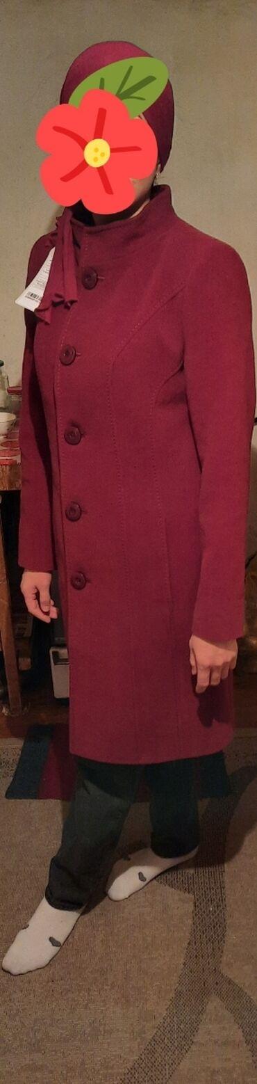 """спатифилум женское счастье в Кыргызстан: Женское приталенное пальто,осень-весна,фирмы """"Коляев"""",новое.размер 48"""