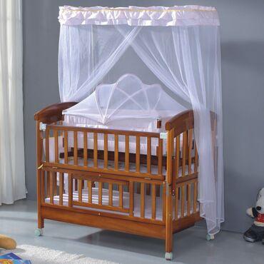 бу детские кроватки в Кыргызстан: Детская Кроватка полный комплект  Люлька накидки, все как на первом