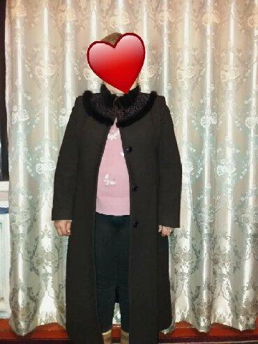 Женские пальто в Ат-Башы: Продаётся пальто одевала пару раз. Состояние новая. Размер 56, цена