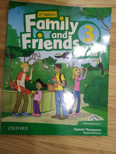 wexler book в Кыргызстан: Family and friends 2nd edition 3 class book
