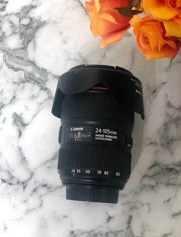 фотоаппарат canon 10d в Кыргызстан: Canon 24-105f4l 2 версия новый