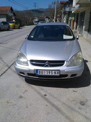 Prodajem citroen c5, održavan; u odličnom stanju. Vozilo je u vranju. - Beograd