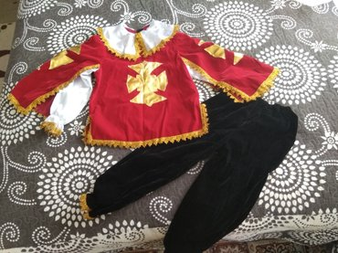 Новогодний костюм мушкетёра, на 8-10 лет. в Бишкек