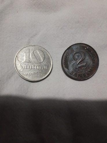 Продаю монеты Латвии 1922 и 39 года в Токмак