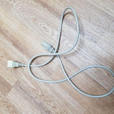 Зарядные устройства - Кыргызстан: Продам кабель питания рабочий.Ups-компьютерВ наличии 2 шт.Цена указана