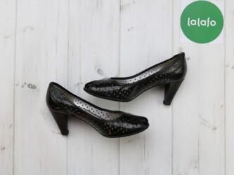 Туфли женские Ecco, 36 р.   Каблук: 6 см Нюансы: на одном каблуке стер