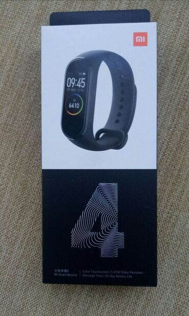 Xiaomi Mi Band 4. WP yazin!Общие