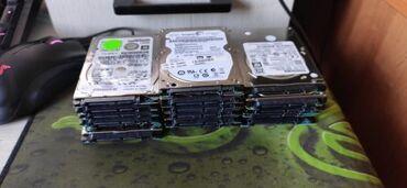 Жесткие диски, переносные винчестеры - Кыргызстан: Жесткие диски для ноутбука Фирмы разные, Seagate, Toshiba, HGSTЕсть