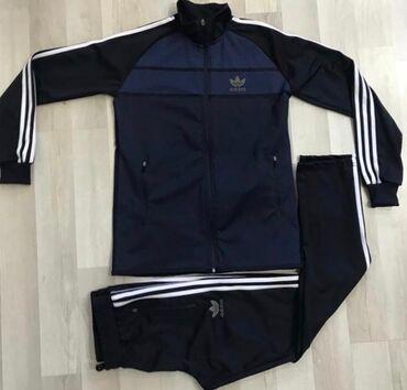 Спортивные костюмы - Кыргызстан: Спортивный костюм 2xl Турция новый! Размер 54-56