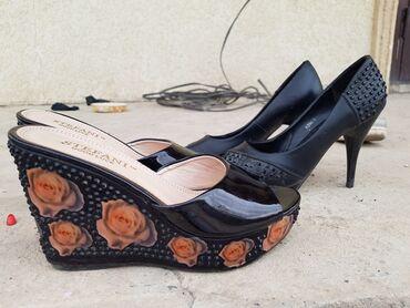 Кожаные туфли и шлёпанцы отличного качества. Продам только вместе