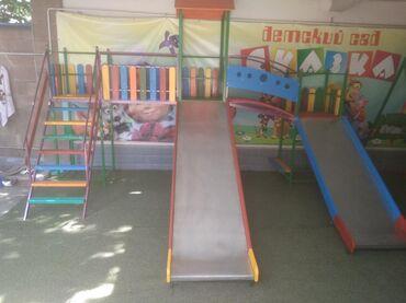 сколе в Кыргызстан: Детская комплексная ( блочная) горка!!! Удобные и безопасные скаты