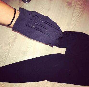 Adidas original helanke sa cirkonima na nogavicama  Velicina M - 38  H