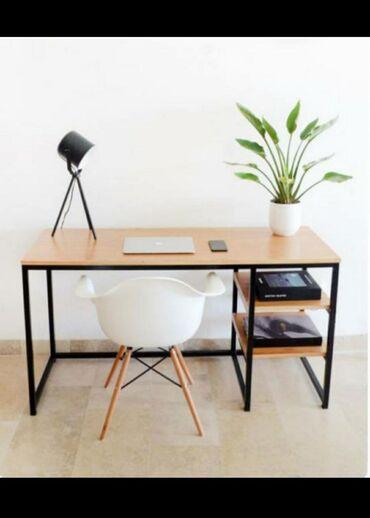 Nameštaj - Borca: Radni sto u industriskom stilu koje karakterišu visoko kvalitetni