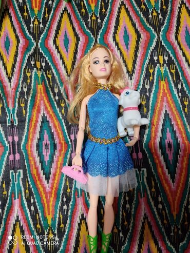 Кукла Барби с собакой