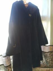 Женская одежда в Каракол: Срочно продается новая норковая шуба с капюшоном носили 4 раза. Размер