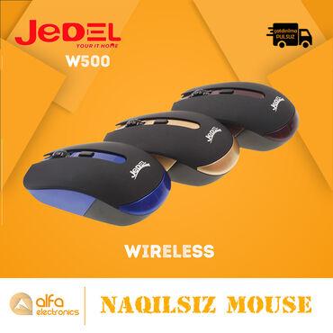 Məhsul: Wifi MouseBrand : JedelModel: W500Status: YeniQoşulma