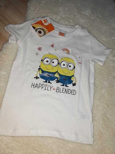 Nova majica za devojcice Majica za devojcice DESPICABLE MENova sa