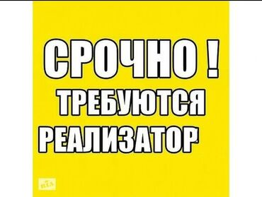 Работа - Кыргызстан: Требуется Реализатор!!!Возраст от 18 и выше . Можно без опыта(обучим )