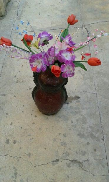 Gəncə şəhərində Guldan, gul qabi, kuvshin saxsi, vaza, boyukdu hundurluyu 54sm,