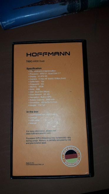 Hoffman  A900 Neo 3 kabra uzerinde verilir adapter ve nausnik yoxdur 1 - Bakı