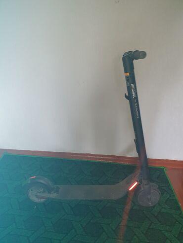 электросамокаиы в Кыргызстан: Электросамокат Segway Ninebot ES 2Пользовался 1 человекРазгон до