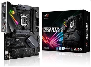 детские платья для танцев в Азербайджан: Asus ROG STRIX B360-F Gaming- ATX, Socket 1151 v2- Intel B360, 4x DDR4