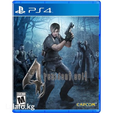 Resident evil 4 ps4 в Бишкек