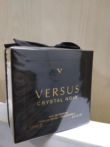 aventos noir - Azərbaycan: Versace crystal noir versus.etir sifariwi sifarisi duxi parfum online