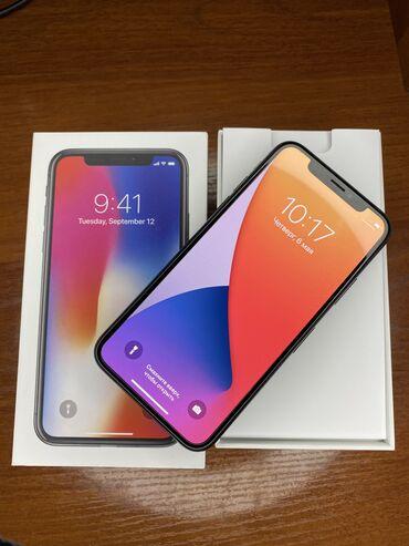 IPhone X 64gb. Space Gray. Состояние идеальна . Не вскрывался все ра