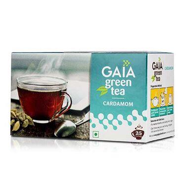 Gaia Green Tea-Cardamomэто гармоничное сочетание богатого