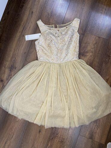 snikersy 36 razmer в Кыргызстан: Нежное платье,турецкое, новое,размер 36