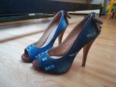 Pedro miralles polusandale - Srbija: Teksas polusandale-cipele, štikla 12cm,broj 38. Samo probane