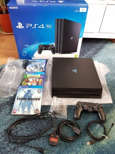 PlayStation 4 Pro with 5 games free σε Κασσάνδρεια