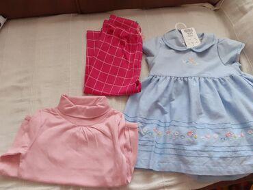 Novo.3 komada garderobe sa etiketom,za dete do godinu
