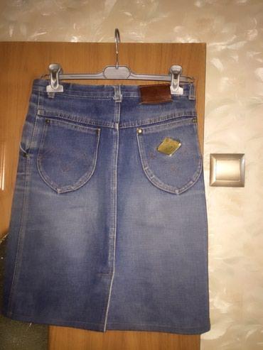 Юбка джинсовая размер 44-46 цена 200с🎉 в Токмак