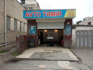 сдам гараж в Азербайджан: Nerimanovda saatli binanin yani avto temir hal hazirda icarededi