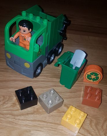 Lego duplo set 4659. kamion djubretarac. kao nov - Belgrade