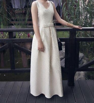 вечернее платье из франции в Кыргызстан: Платье покупала на выпускнойнадела 2раза . Только длину подшила под