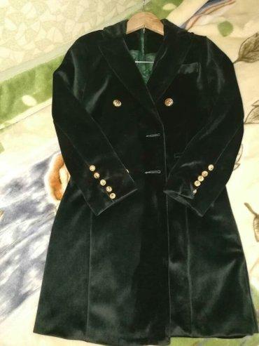 Платье-пиджак бархат размер 44 одет один раз смотрится шикарно в Сокулук
