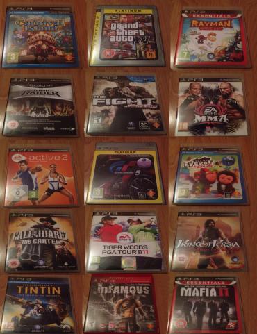 Bakı şəhərində PS3 oyun diskleri. Teze 40 manat. Islenmiw ideal veziyetde 20