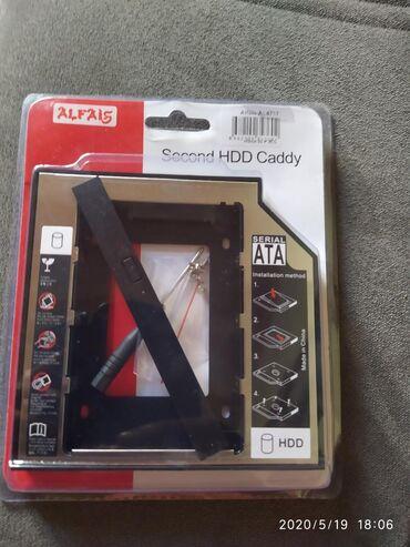 HDD Caddy 12 mm sifariş səhv gəlib 9 mm ile dəyişməkdə olar