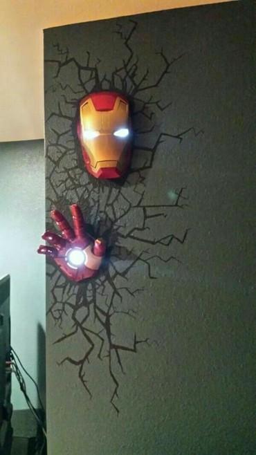 Светильники для любителей  Marvel  любой в Бишкек