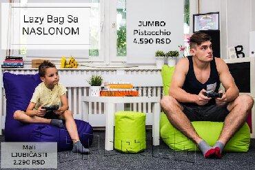 Lejzi beg - Srbija: Lazy bag (Lejzi Beg) sa NaslonomBESPLATNA dostava za NOVI