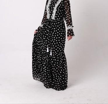 турецкое платье шифон в Кыргызстан: Шикарное вечернее платьеРазмеры: 42-44-46-48Турция ткань шифон