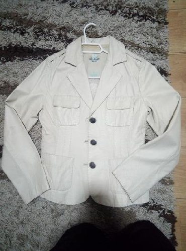 Bez-sako - Srbija: Kozna sako jakna, bez boje vel. 38