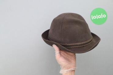 Чоловічий однотонний капелюх Tonak, р. S/56    Довжина ззовні: 20 см Ш